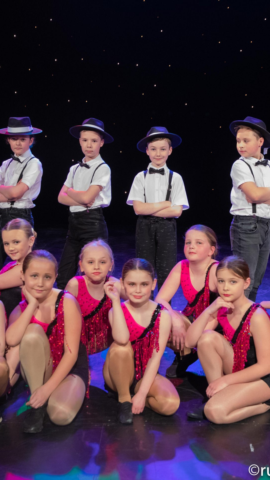 performing stars academy, Homepage